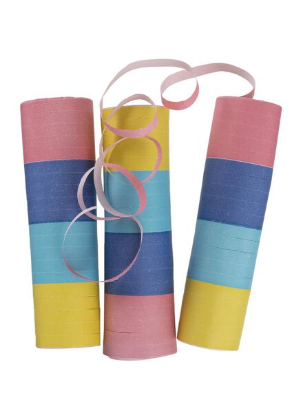 lot de 3 rouleaux de serpentins - 14230110 - HEMA