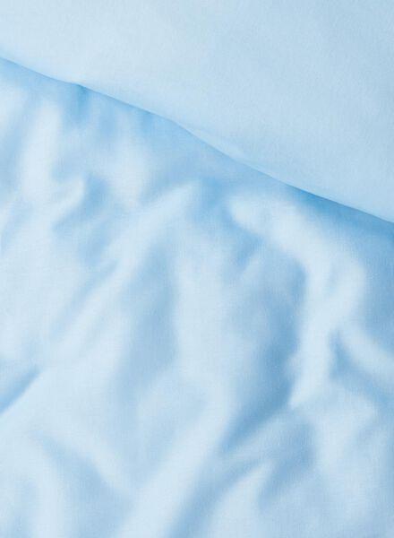 housse de couette - coton doux - bleu bleu clair bleu clair - 1000014124 - HEMA