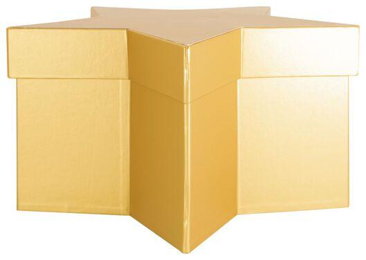 gift box 28.5x28.5x15 gold - 25700160 - hema