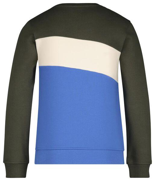 Kinder-Sweatshirt dunkelgrün dunkelgrün - 1000017720 - HEMA