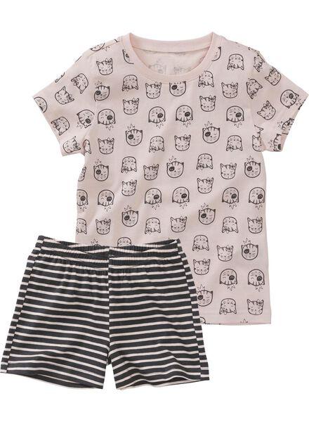 2-pack children's short pyjamas light pink light pink - 1000006644 - hema