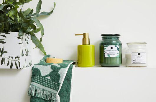 3 cardboard boxes green olive leaves - 39822221 - hema