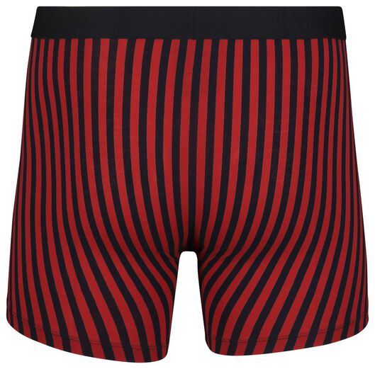 men's boxers long cotton stretch red red - 1000018802 - hema
