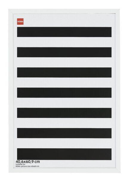 HEMA Bilderrahmen - Holz - Weiß 40.6 X 60.9