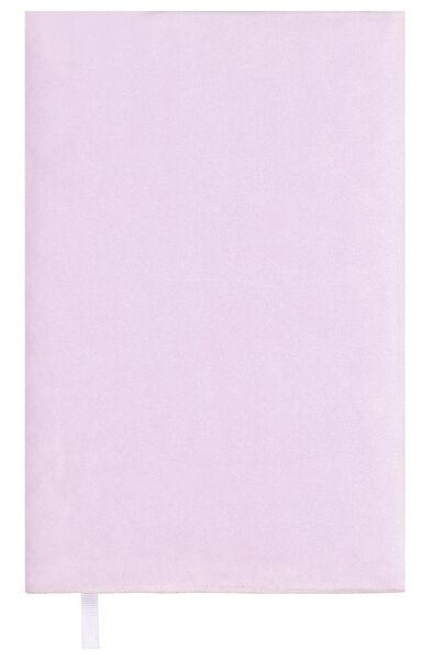 elastischer Buchschoner, Samt, violett - 14590248 - HEMA