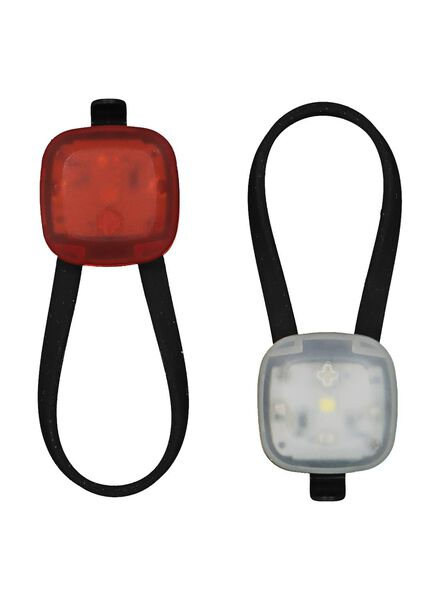 2 small LED bicycle lights - 41198125 - hema