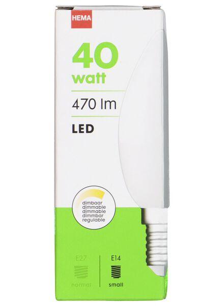 LED-Kerzenlampe – 40 W – 470 lm – matt - 20020021 - HEMA