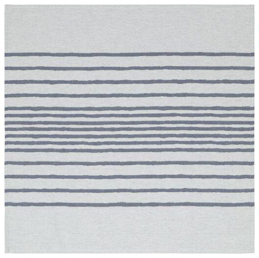 Geschirr- und Küchenhandtuchset, Streifen, blau - 5420030 - HEMA