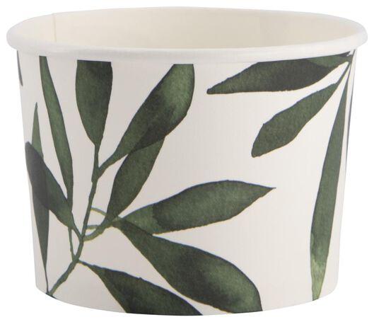 5 small paper bowls - 450 ml - plant - 14200363 - hema