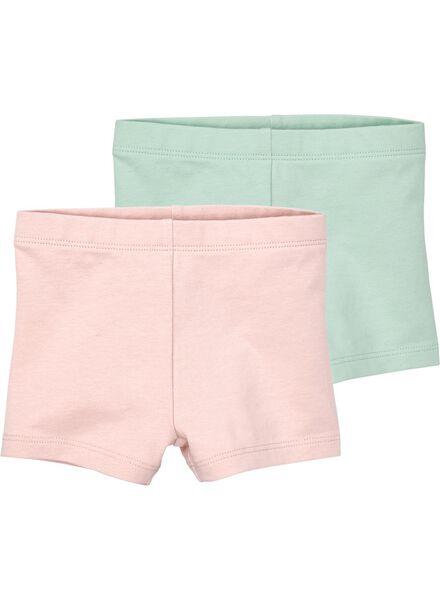 HEMA 2er Pack Baby Leggings Rosa