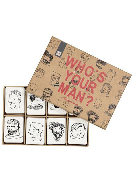 Memory-Spiel, who's your man? - 60200444 - HEMA