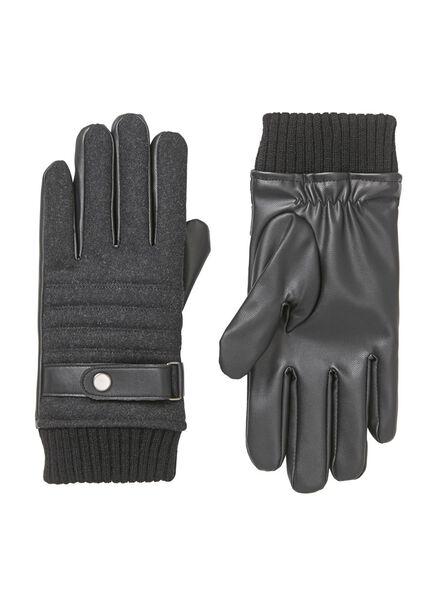gants homme noir noir - 1000009893 - HEMA