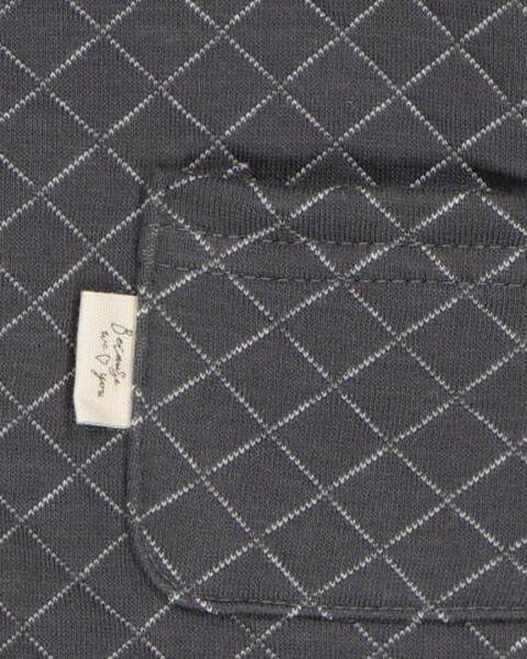 combinaison nouveau-né gris gris - 1000020627 - HEMA