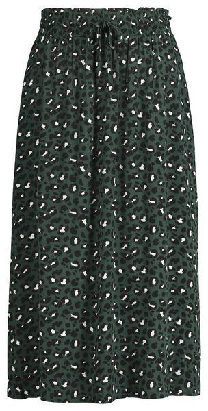Damen-Rock dunkelgrün dunkelgrün - 1000020996 - HEMA