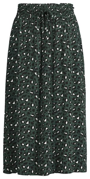 Damen-Rock dunkelgrün XL - 36209734 - HEMA