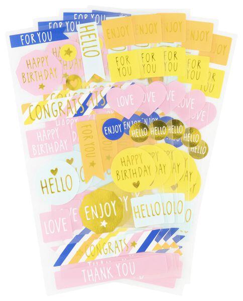 5 sticker sheets - 14700322 - hema