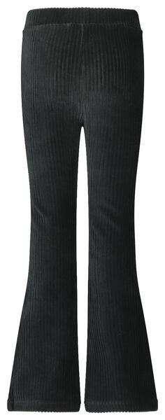 children's trousers flared black black - 1000020252 - hema
