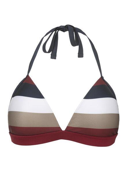 gepolstertes Damen-Triangel-Bikinioberteil rot - 1000012162 - HEMA