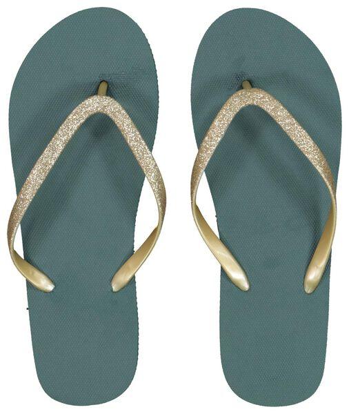 women's slippers green green - 1000018087 - hema