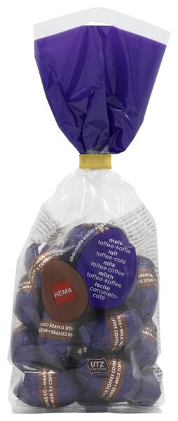 milk chocolate Easter eggs caramel-coffee 200 grams - 10091042 - hema