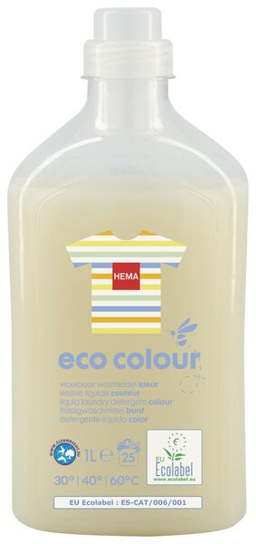 eco liquid detergent colour 1L - 20510046 - hema