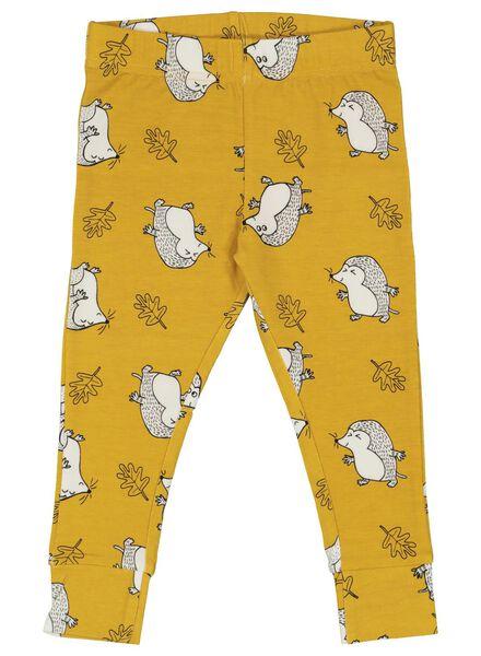 Baby-Pyjama, Bambus gelb gelb - 1000014714 - HEMA