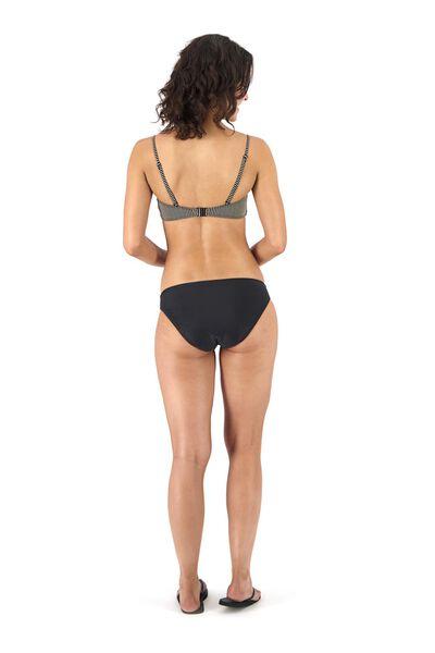 women's padded bandeau bikini top black black - 1000017900 - hema