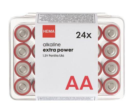 24er-Pack Batterien, Typ AA - 41290254 - HEMA