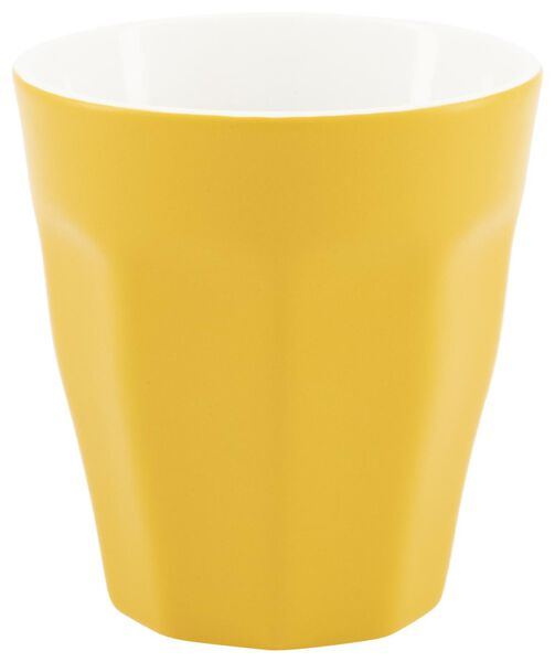 mug - 250 ml - Mirabeau matt - yellow - 9602208 - hema
