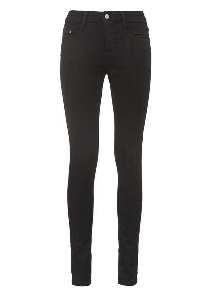 Damen-Jeans schwarz schwarz - 1000005216 - HEMA