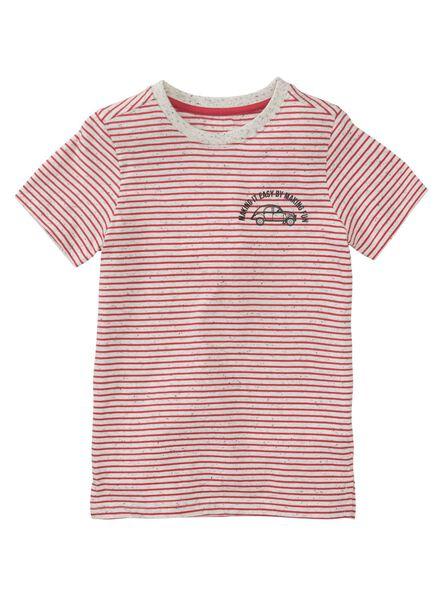 Kinder-T-Shirt rot - 1000011329 - HEMA