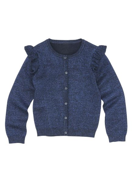children's cardigan dark blue dark blue - 1000005601 - hema