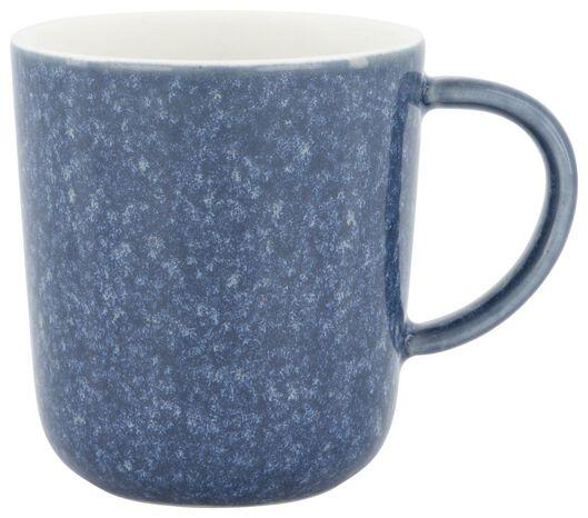 mug à café Chicago 130 ml - émail réactif - bleu - 9602156 - HEMA