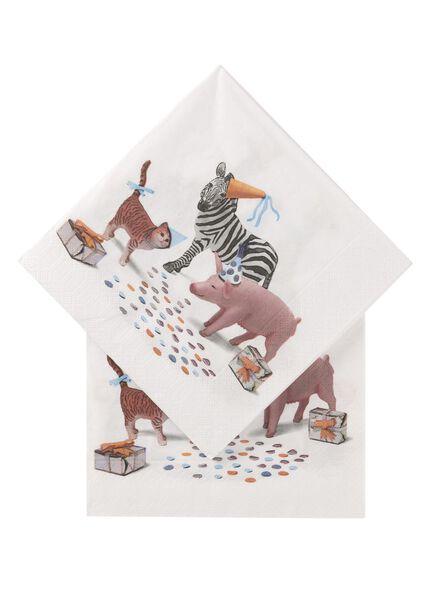 20-pack napkins 33 x 33 cm - 14230083 - hema