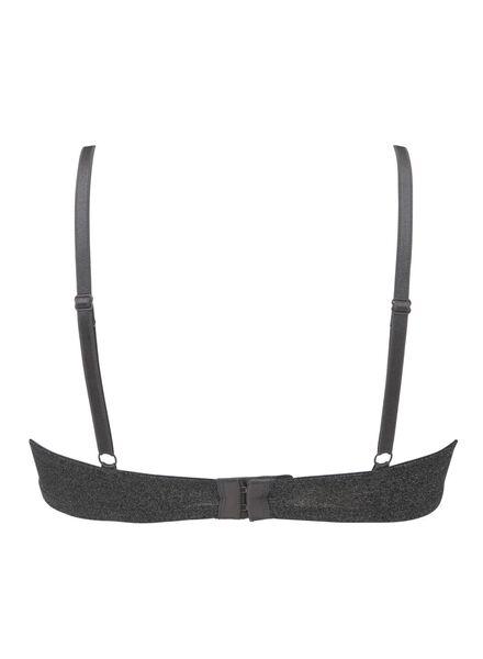 soutien-gorge t-shirt paddé en micro gris chiné gris chiné - 1000012161 - HEMA