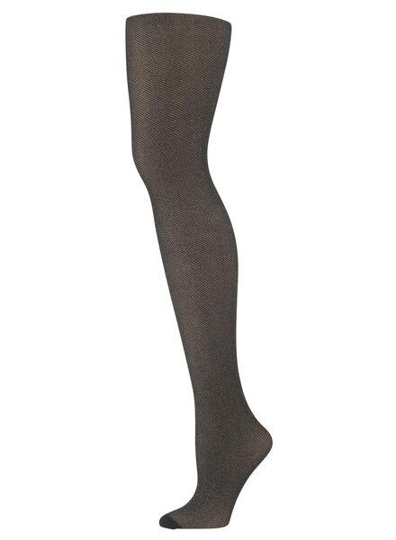 collant fashion à paillettes noir noir - 1000010285 - HEMA