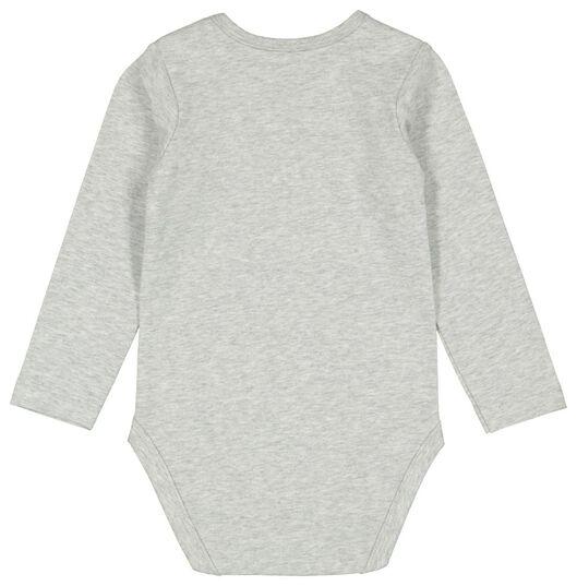 body stretch gris chiné gris chiné - 1000011997 - HEMA