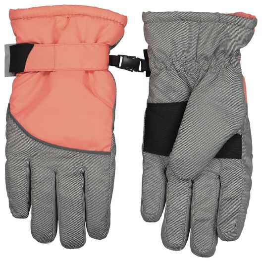 Kinder-Handschuhe rosa 146/152 - 16720094 - HEMA