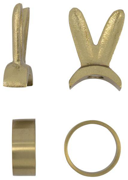 2 anneaux de serviette Ø 3.5 cm - doré - 25810128 - HEMA