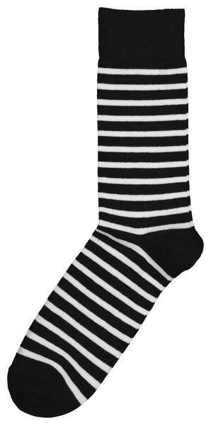 socks for adults - mini-me black/white black/white - 1000019297 - hema