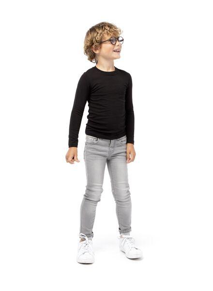 Kinder-Jogdenim grau grau - 1000003994 - HEMA