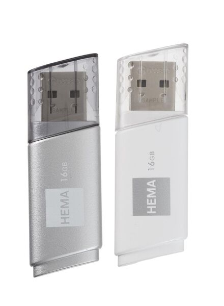 Image of HEMA 2-pack USB-stick 16GB