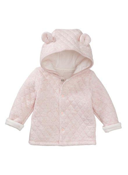 newborn jacket pink pink - 1000005678 - hema