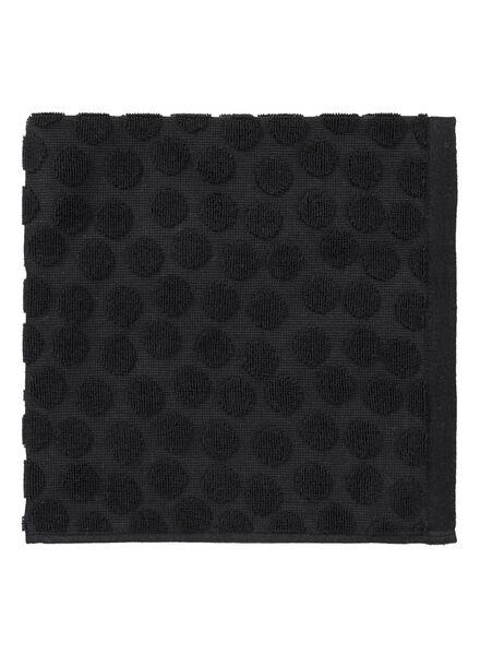 Küchenhandtuch – Punkte – schwarz Küchenhandtuch - 1000016793 - HEMA