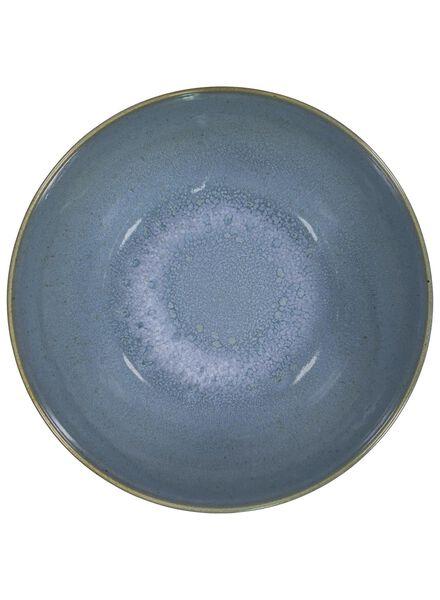 Schale Porto – 26 cm – reaktive Glasur – blau - 9602028 - HEMA