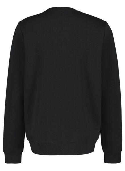 men's sweater black black - 1000016955 - hema