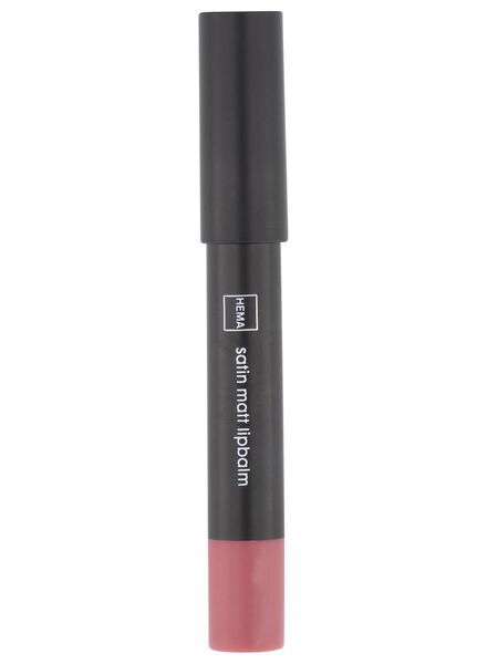 satin matt lip balm 13 rose - 11230313 - hema