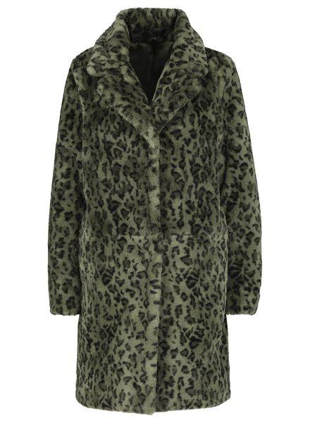 women's coat army green army green - 1000017066 - hema
