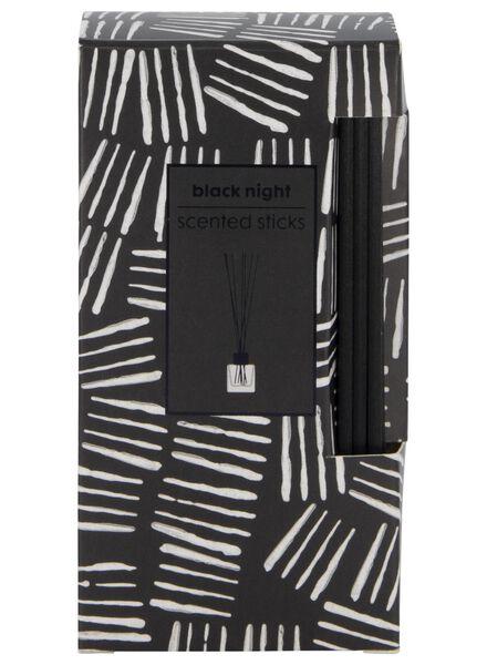 bâtonnets aromatiques black night 50ml - 13501976 - HEMA