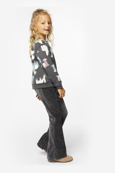 Kinder-Sweatshirt, Alpaka bunt 110/116 - 30870078 - HEMA